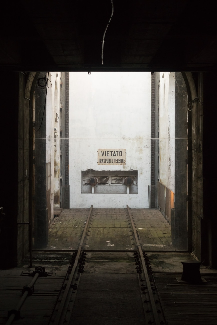 Memoriale Shoah Milano Holocaust Memorial Milan Inexhibit 07s