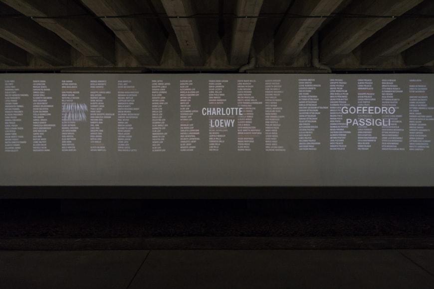 Memoriale Shoah Milano Holocaust Memorial Milan Inexhibit 12s