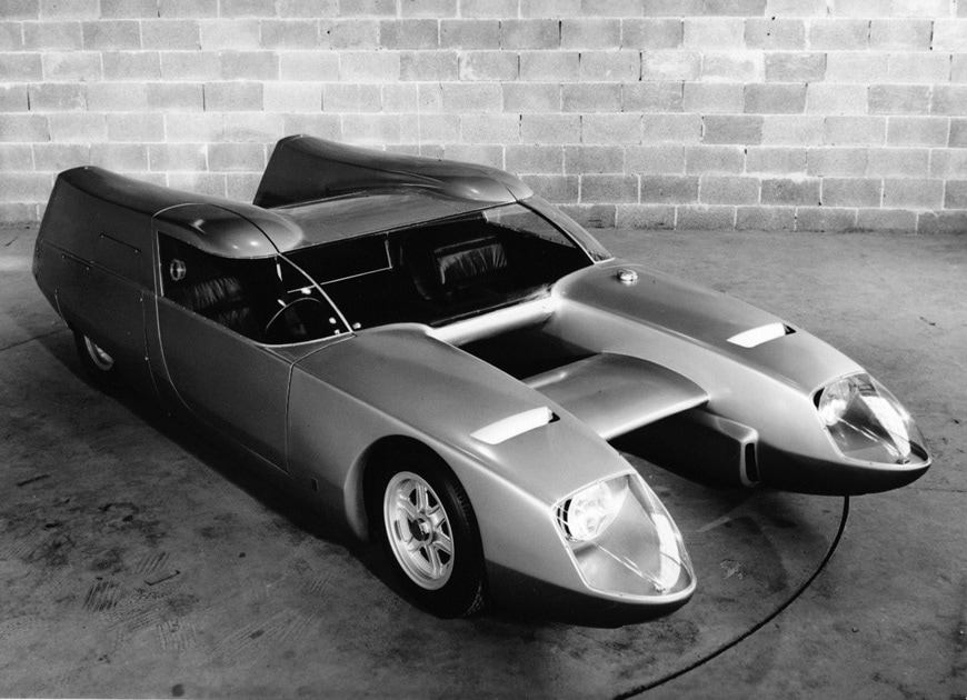 OSI Silver Fox Bisiluro race car 1967 3
