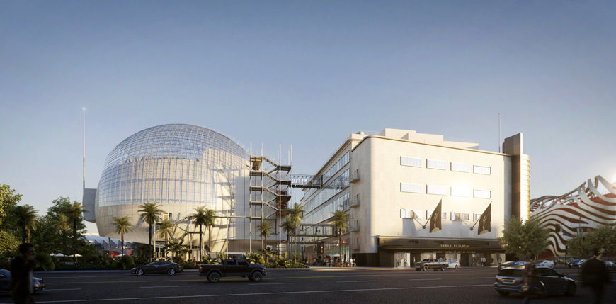 Academy Museum of Motion Pictures Los Angeles, Renzo Piano 1