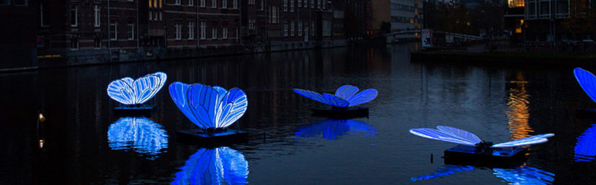 The 8th edition of Amsterdam Light Festival