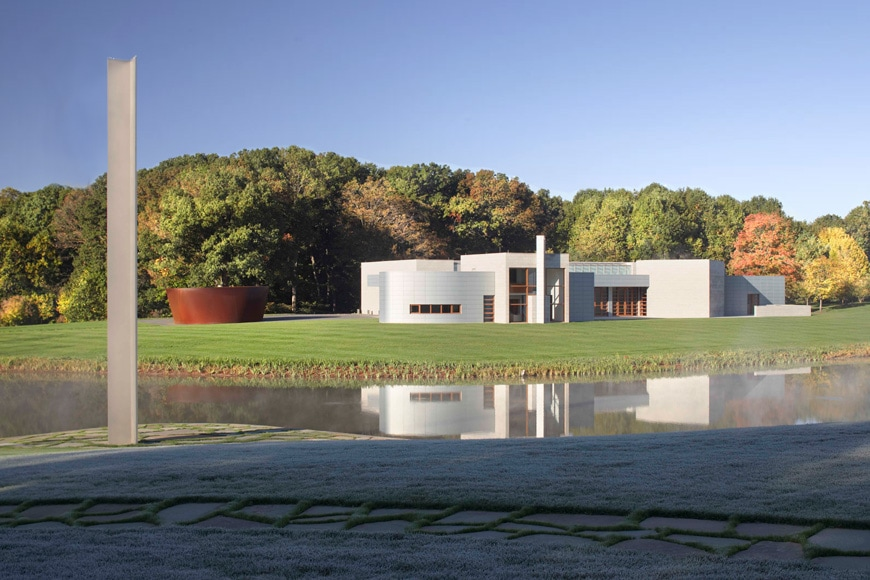Glenstone art museum Potomac Maryland Gwathmey building exterior 1