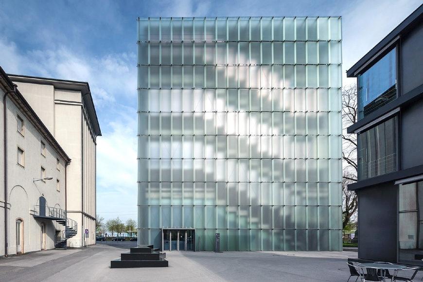 KUB Kunsthaus Bregenz, Peter Zumthor, exterior 8