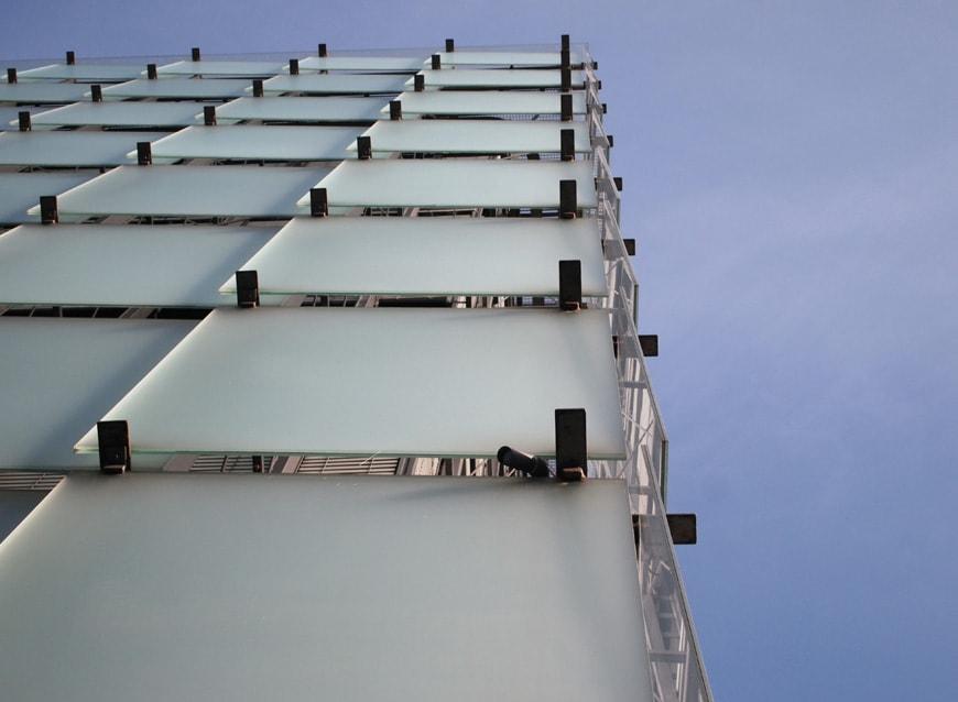 KUB Kunsthaus Bregenz Peter Zumthor glass facade