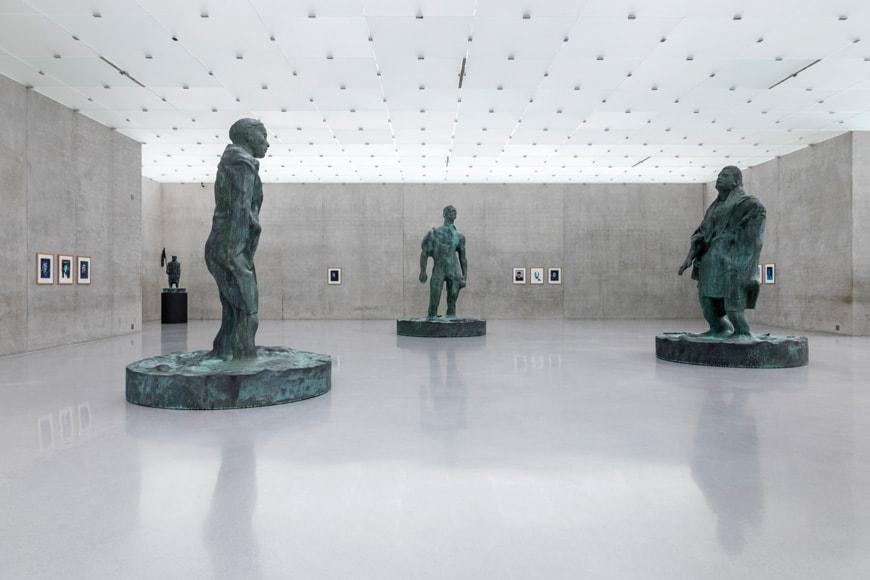 KUB Kunsthaus Bregenz, Thomas Schutte exhibition
