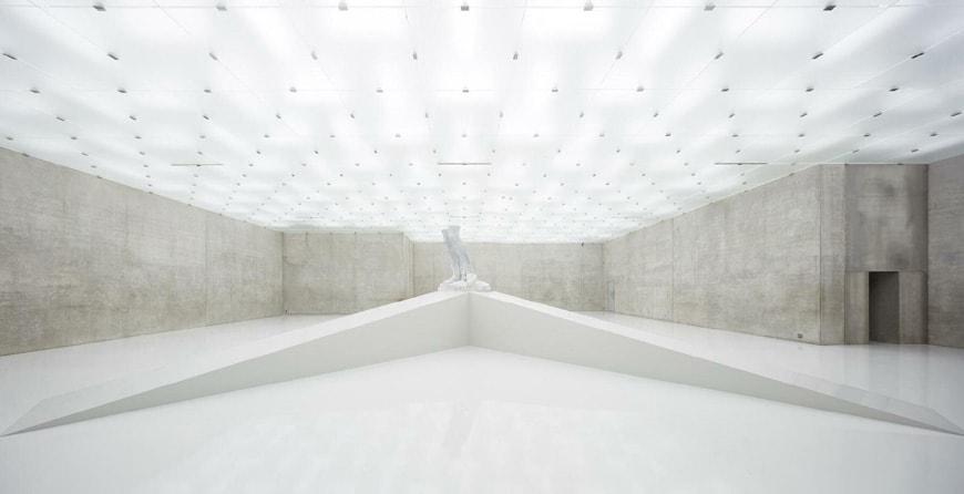 KUB Kunsthaus Bregenz, third floor, Adrian Villar Roja exhibition
