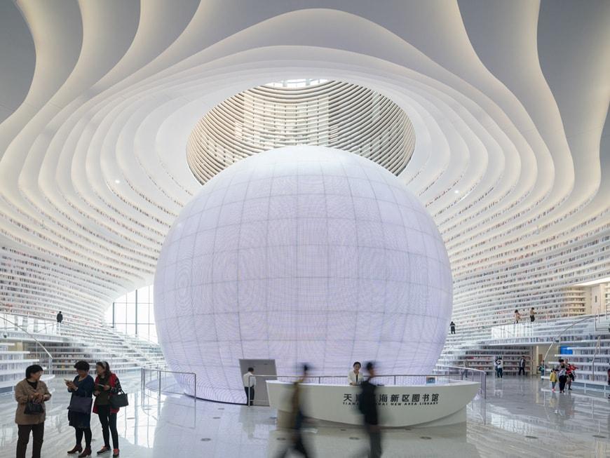 Tianjin Binhai Library MVRDV 02