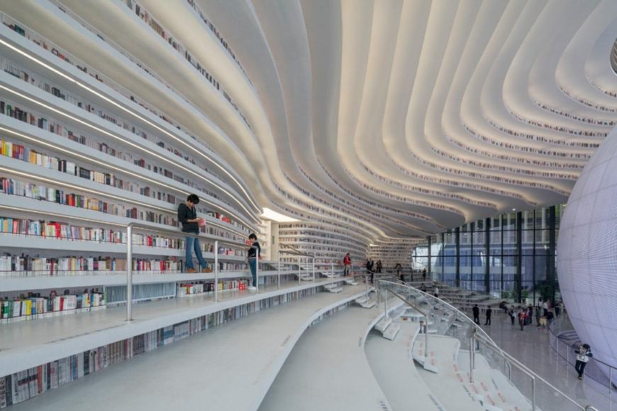 Tianjin Binhai Library MVRDV 05