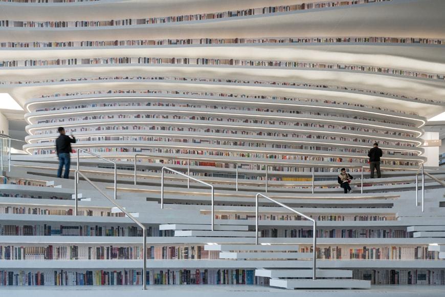 Tianjin Binhai Library MVRDV 06