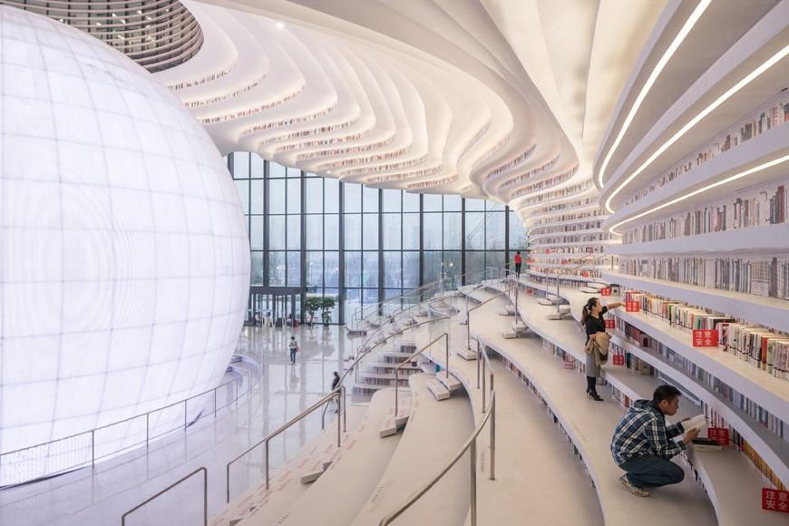 Tianjin Binhai Library MVRDV 07
