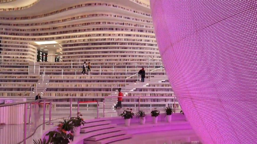 Tianjin Binhai Library MVRDV 10