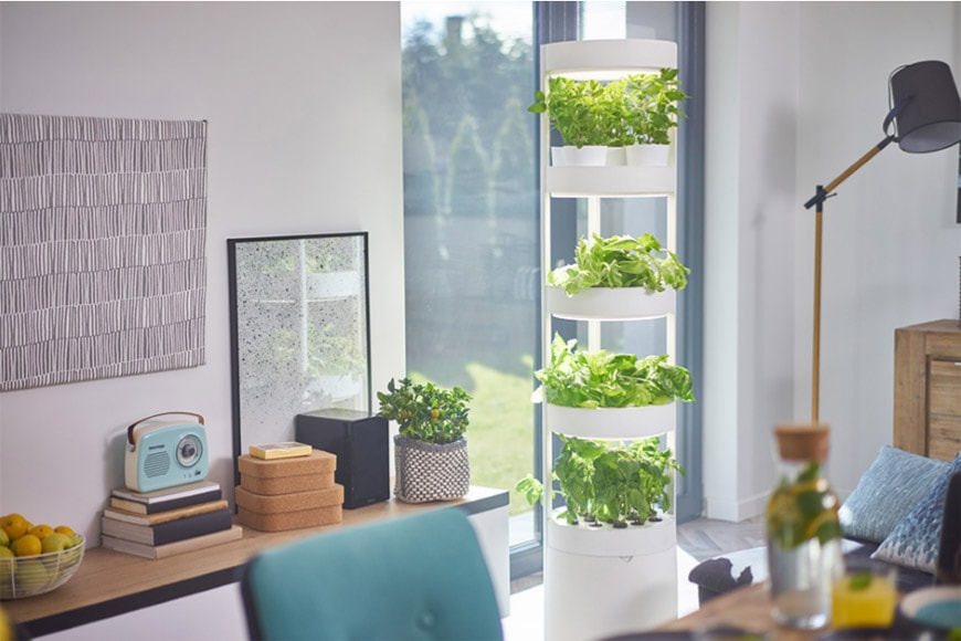 vertical home garden system by Verdeat Robert Paluch