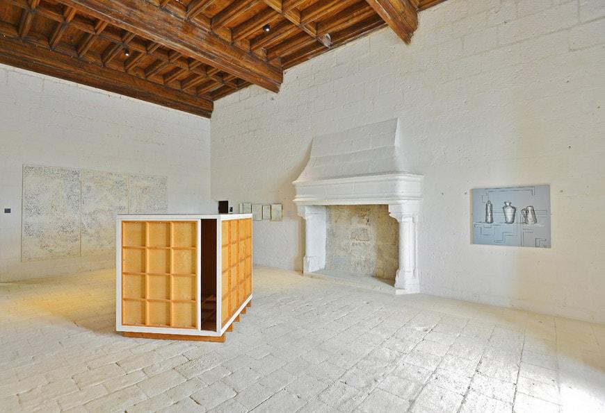 Chateau-de-Montsoreau-Art & Language-Incident Now they are Elegant-1993
