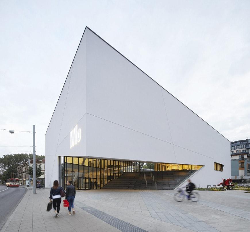 Daniel Libeskind MO Museum Vilnius Lithuania exterior 1