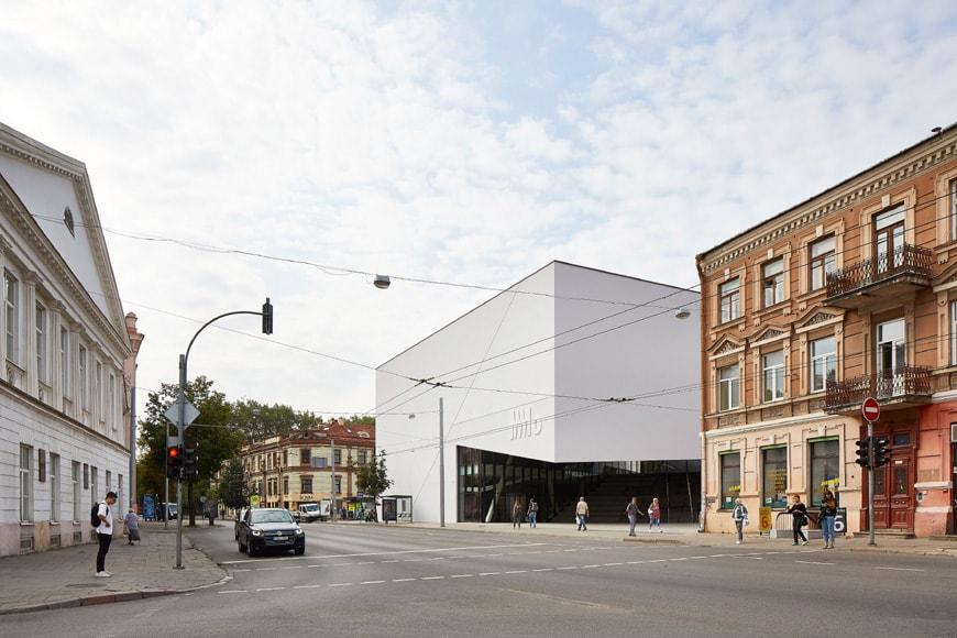 Daniel Libeskind MO Museum Vilnius Lithuania exterior 3