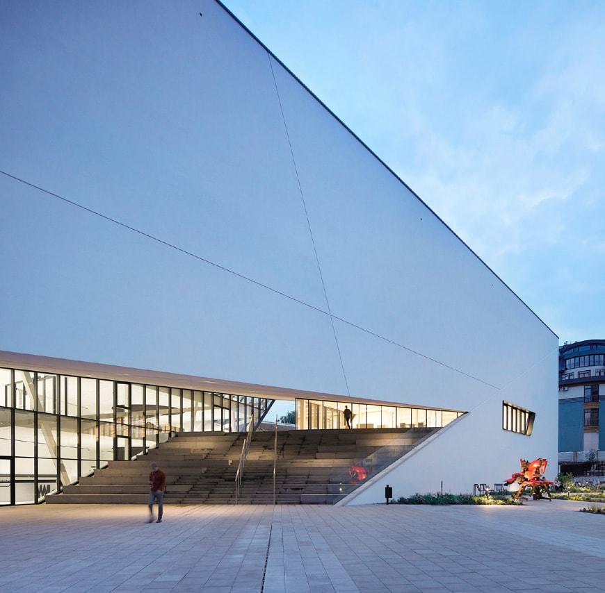 Daniel Libeskind MO Museum Vilnius Lithuania exterior 4