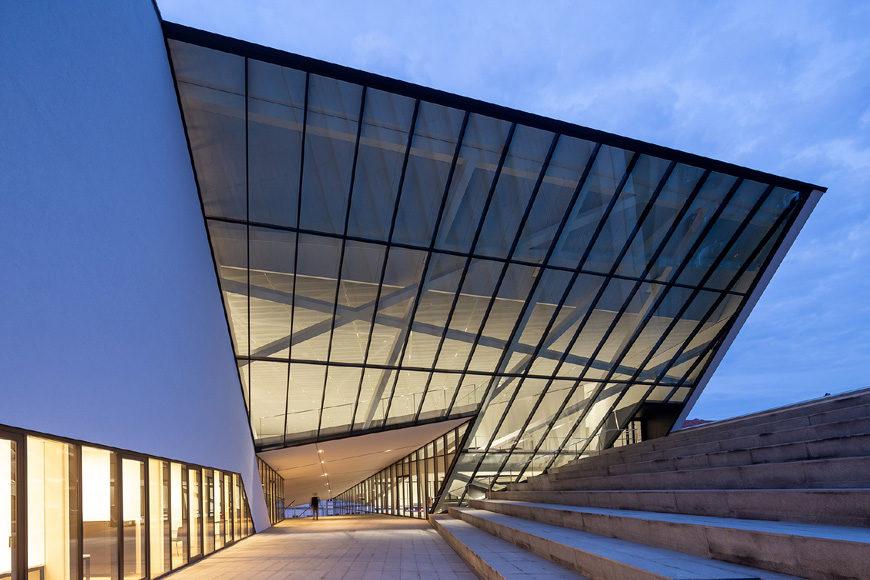 Daniel Libeskind MO Museum Vilnius Lithuania exterior 6