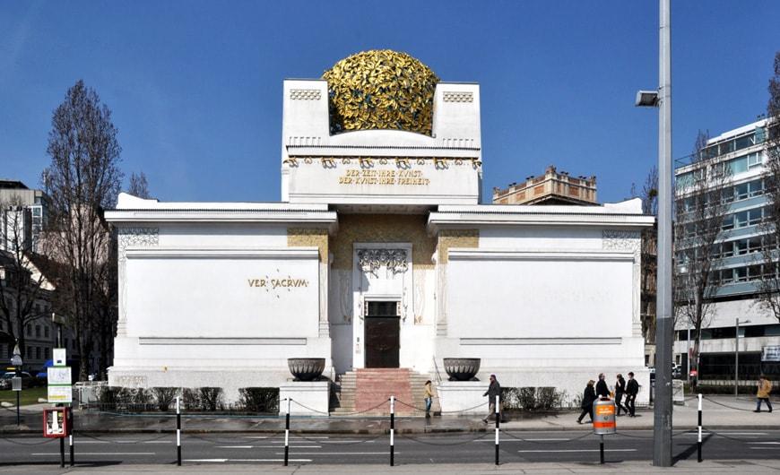 Secession Building Vienna Joseph Olbrich exterior