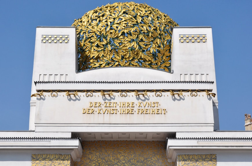 Secession-Building-Vienna-Joseph-Olbrich-gilded-dome