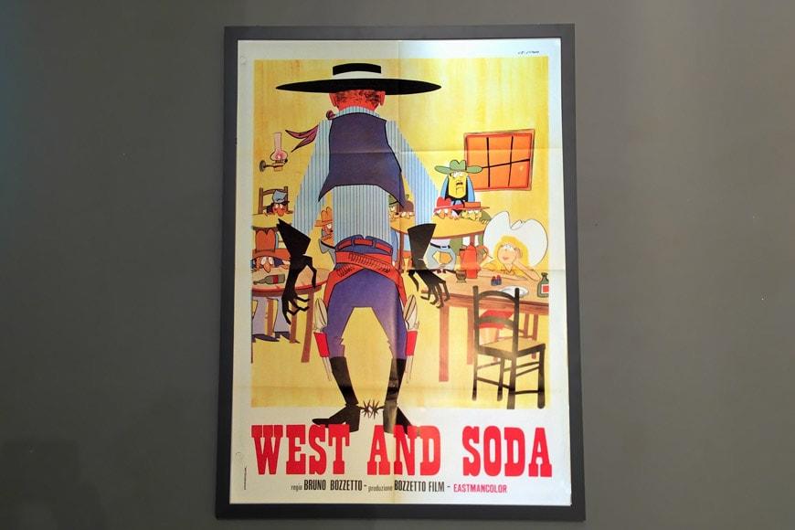 super-mostra-illustratori--bruno-bozzetto-cremona-2019-20-manifesto-west-and-soda