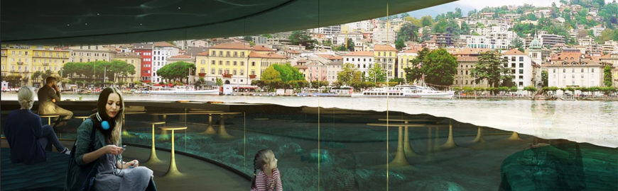 CRA-Carlo Ratti Associati- unveils a new plan for Lugano's waterfront