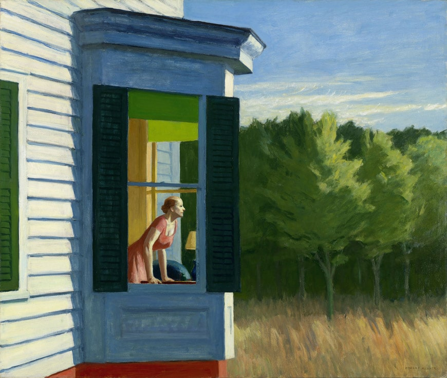 E-Hopper-Cape-Cod-Morning-1950-LAC-beyeler