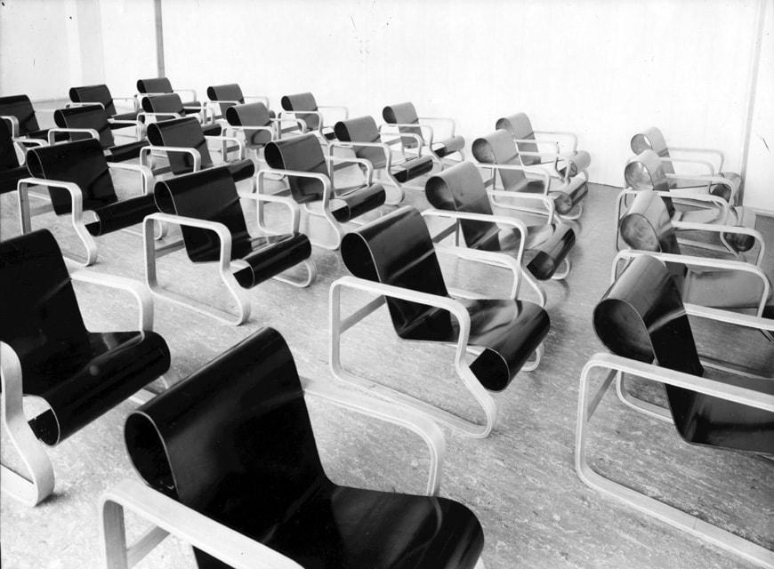Paimio Chairs model 41 Artek
