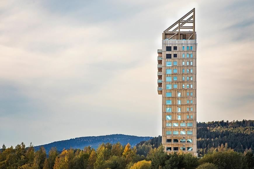 Mjøstårnet timber tower Voll Arkitekter 2