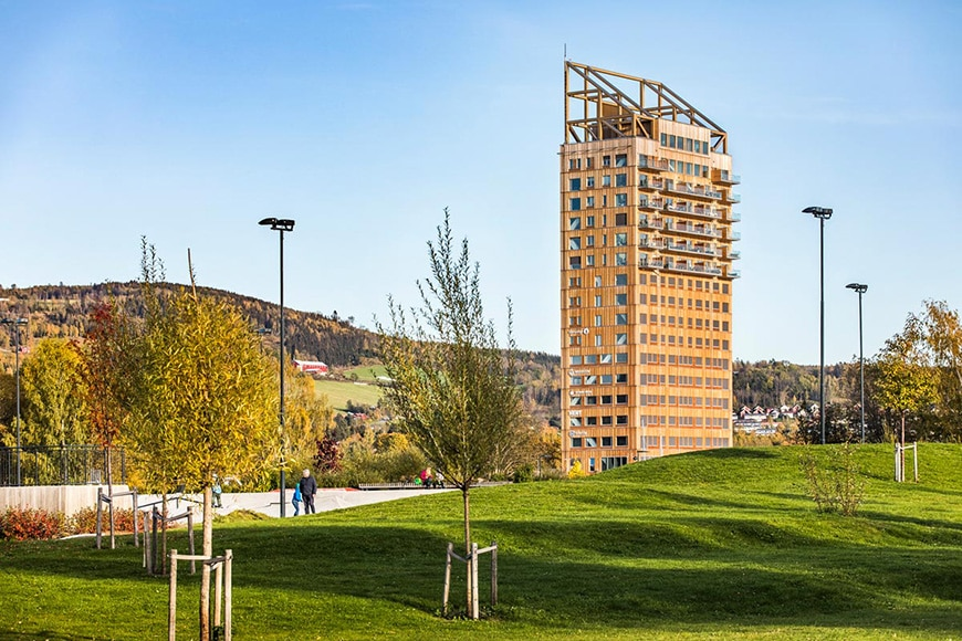 Mjøstårnet timber tower Voll Arkitekter 3