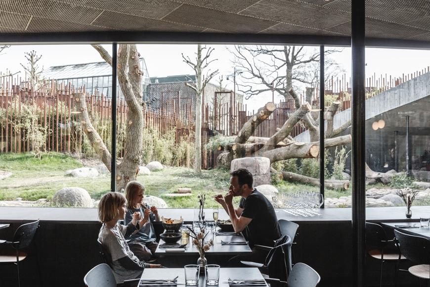 Panda House Copenhagen Zoo BIG Bjarke Ingels PanPan Bistro restaurant