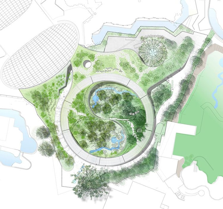 Panda House Copenhagen Zoo BIG Bjarke Ingels plan