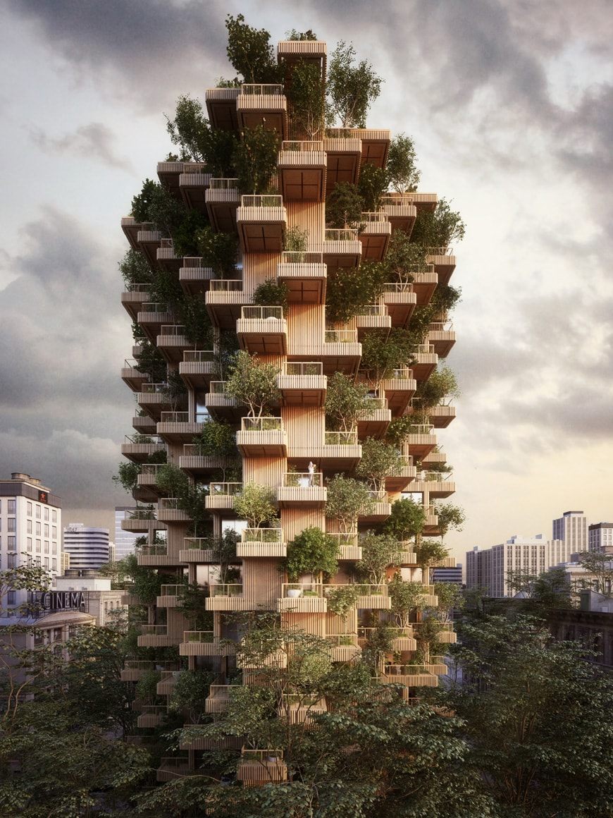 Penda Toronto Tree Tower 1