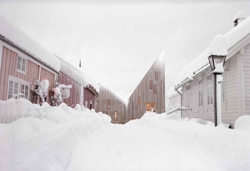 Romsdal Folk Museum, Molde, Norway, Reiulf Ramstad Arkitekter 02