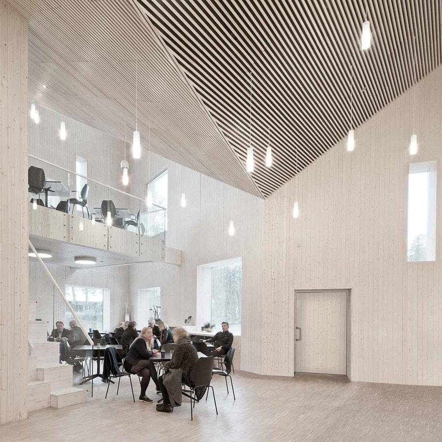 Romsdal Folk Museum, Molde, Norway, Reiulf Ramstad Arkitekter cafe