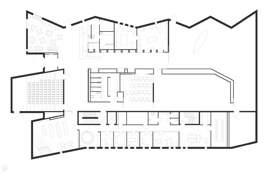 Romsdal Folk Museum, Molde, Norway, Reiulf Ramstad Arkitekter plan