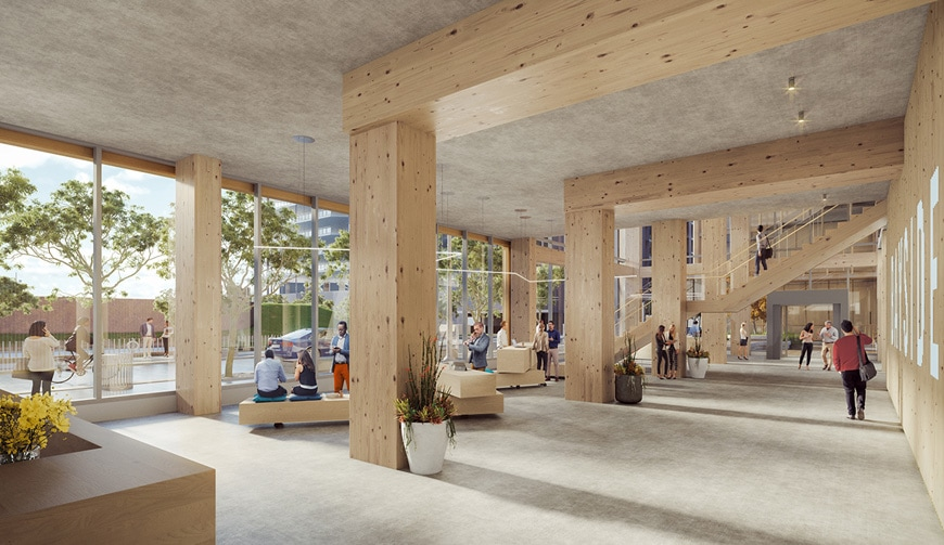 T3 Bayside timber office building Toronto 3XN architects 5
