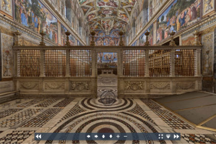 Vatican Museums virtual tour Sistine Chapel