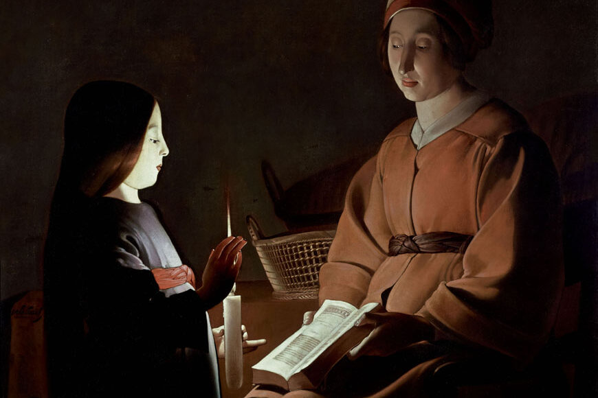 The Education of the Virgin, c. 1650