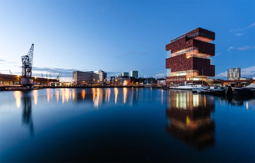 MAS Museum aan de Stroom Antwerp Neutelings Riedijk Architecten exterior 1