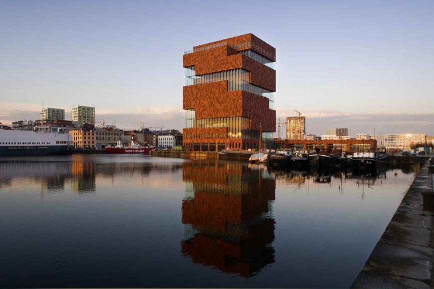 MAS Museum aan de Stroom Antwerp Neutelings Riedijk Architecten exterior 2