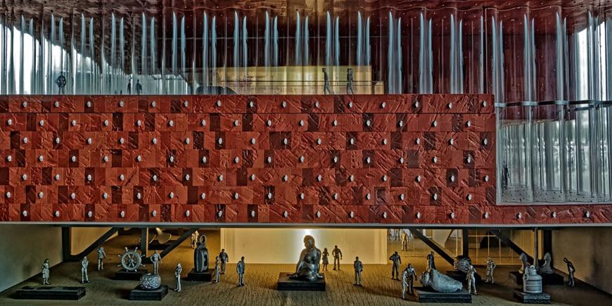 MAS Museum aan de Stroom Antwerp Neutelings Riedijk Architecten interior 1