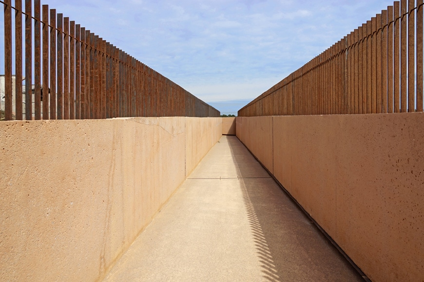Rivesaltes Camp Memorial and Museum, Rudy Ricciotti, exterior 2