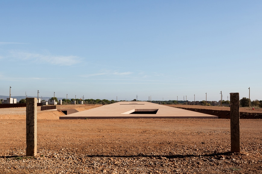 Rivesaltes Camp Memorial and Museum, Rudy Ricciotti, exterior 3
