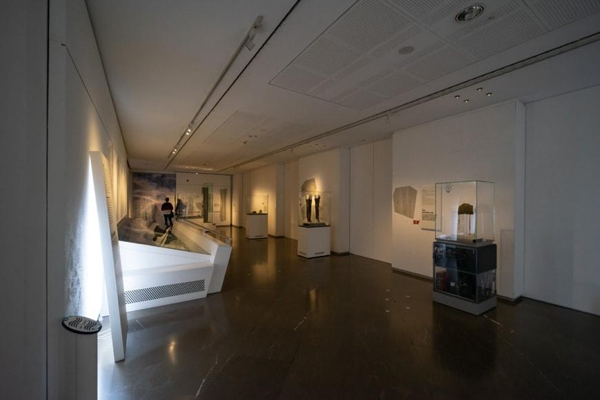 South Tyrol Museum of Archaeology Bolzano Bozen permanent exhibition Otzi mummy 3 Inexhibit