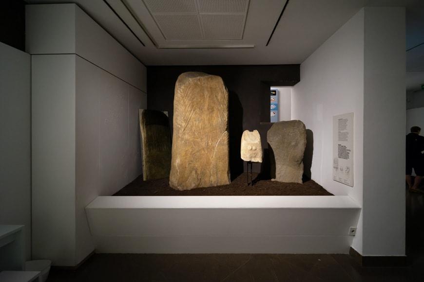 South Tyrol Museum of Archaeology Bolzano Bozen prehistory permanent exhibition 3 Inexhibit
