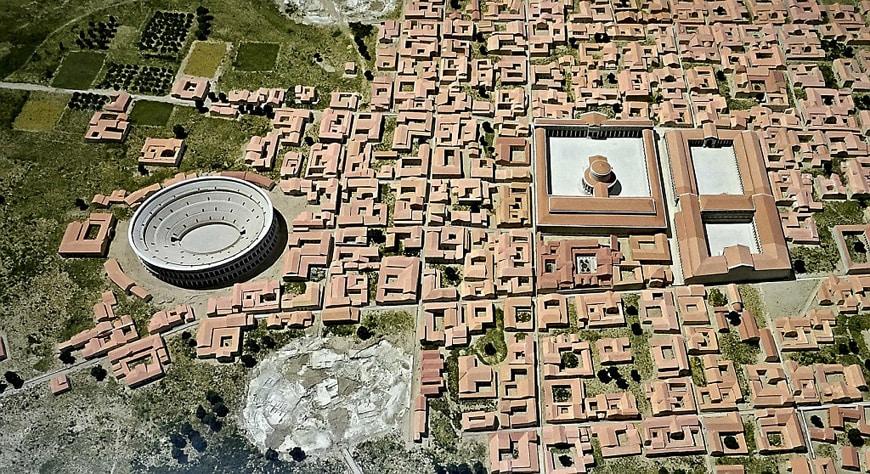 esunna-Gallo-Roman-Museum-Perigueux-Dordogne-urban-model