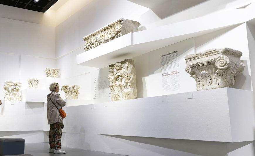 Musée de la Romanité, Nîmes, Elizabeth de Portzamparc, permanent exhibition 2