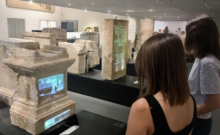Musée de la Romanité, Nîmes, Elizabeth de Portzamparc, permanent exhibition 4