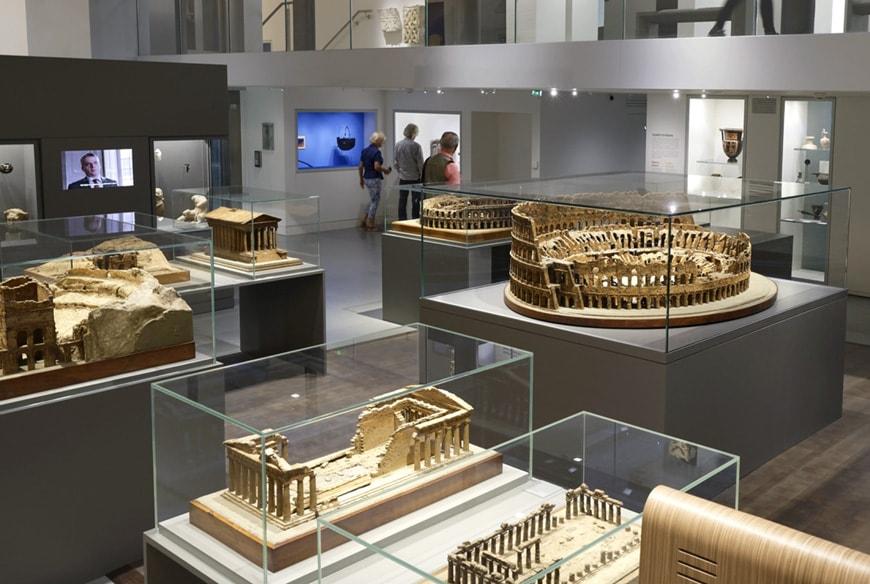 Musée de la Romanité, Nîmes, Elizabeth de Portzamparc, permanent exhibition 6