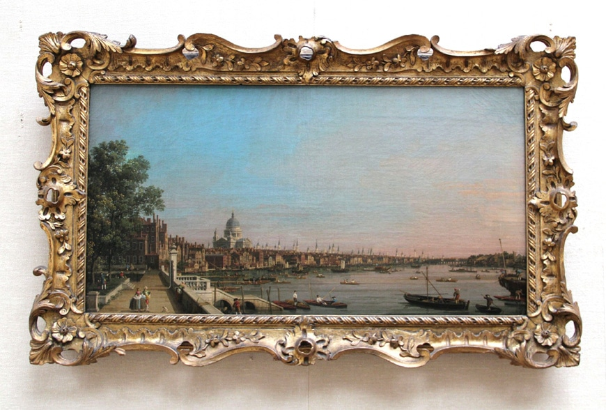 Canaletto Yale Center for British Art New Haven
